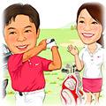 ゴルフ場-1 富士山