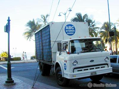 ハワイABCストアのトラック