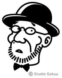 有名人「お顔ロゴ」似顔絵