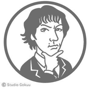 「お顔ロゴ」似顔絵