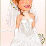 結婚式新婦ウェディングドレス「D-1」 コルセットプリンセスライン
