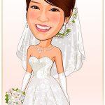 結婚式ウェディングドレス「D-4」 Aライン