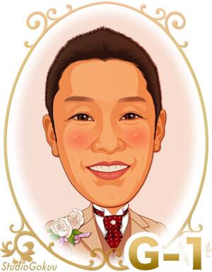結婚式新郎髪型「G-1」 ショートヘアスタイル